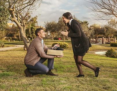 Elia proposal For Valentine