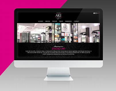 SITE WEB   Studio Aki