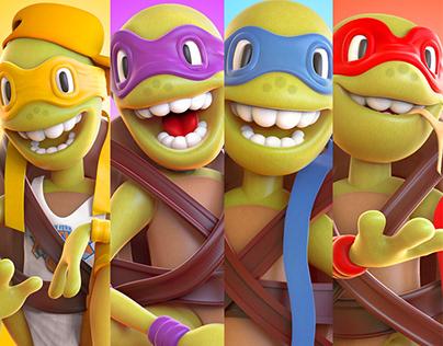 Teenage Mutant Ninja Turtles - Fan Art