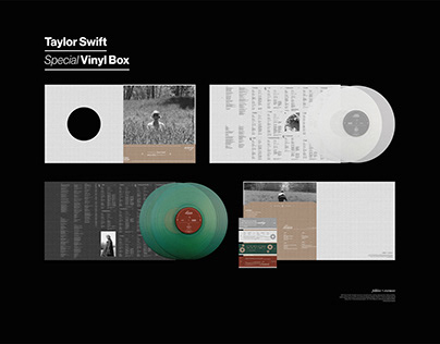Taylor Swift - Folklore/Evermore Vinyl Box Set