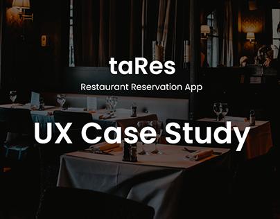 UX Case Study - taRes