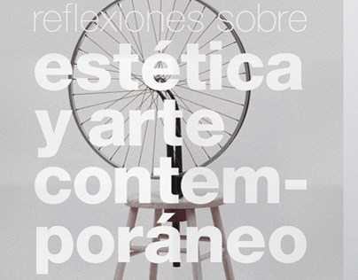 Estética y arte contemporáneo. Poster