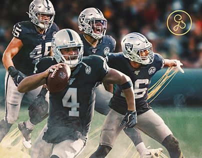 Oakland Raiders - NFL 2019/20 Gameday Graphic