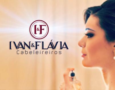 Branding - Ivan & Flávia Cabeleireiros
