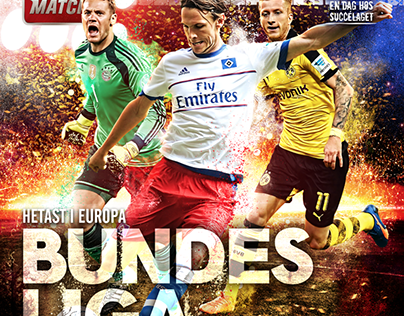 Bundesliga - Cover Design