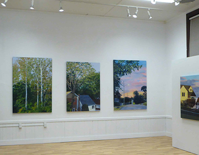 """""""Arbor Vitae"""" at Anderson Chase Gallery, January 2017"""