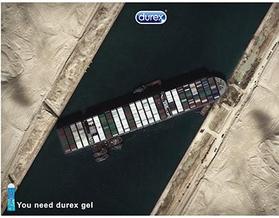 durex | suez canal (You need durex gel)