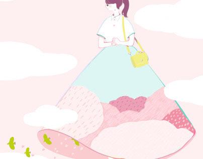 Sakura #春のアドビイラスト祭り