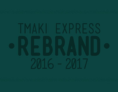 Tmaki Express - Rebrand | Packages and Menu