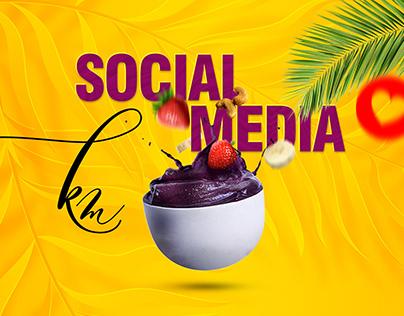 Social Media Açaí 2020 Agosto
