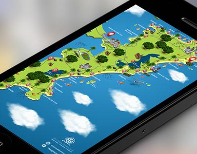 Criação  |  Mapa Florianópolis
