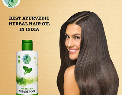 Get Best Ayurvedic Herbal Hair Oil | Zenes Biotech