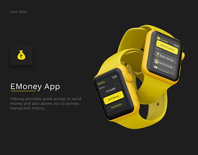 EMoney for Apple Watch