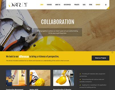Konstruct - A Construction Business Theme