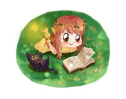 Forest Fairy - Digital Illustration
