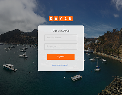 Project #5 - Login Page