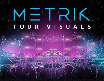 Metrik - Tour Visuals