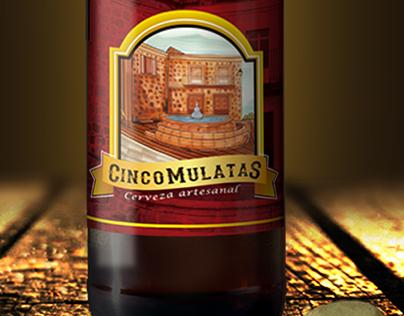 Cerveza Cinco Mulatas