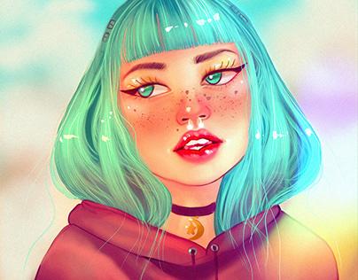 Digital Painting Portraits