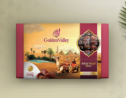 Golden Valley Dates Branding & Packaging