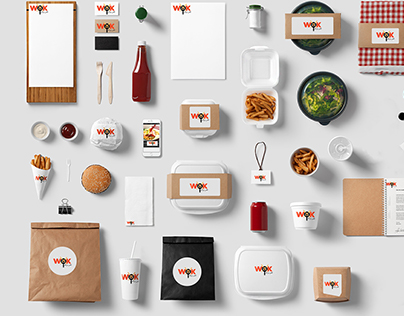 restaurant branding and packaging