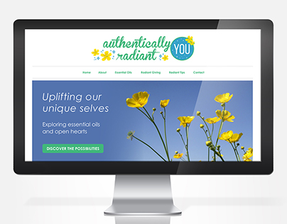 Authentically Radiant YOU | Logo + Branding