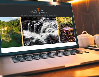 Produção de fotos, vídeo e website Pousada Roccaporena