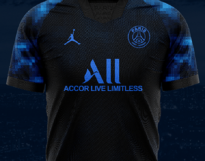 Paris Saint-Germain Third kit concept jordan