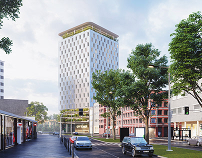 VIZprofistudio Bochum City Tower