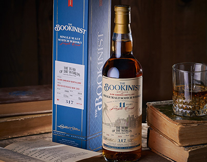 Collection Whisky Label Design - The Bookinist