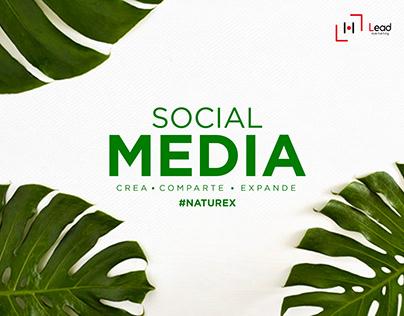 Social Media #Naturex 2018