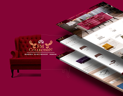 "Online Furniture Store ""FM Collection"""