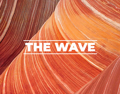 The Wave - A sea of sand