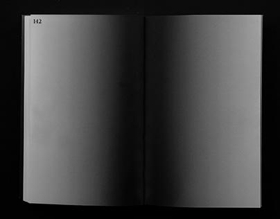 This Thin Memory A-ha Book Design