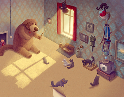 Illustrations for picturebook