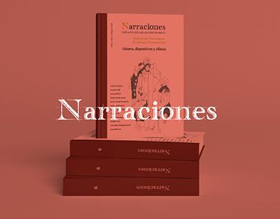 Narraciones - Diseño editoral