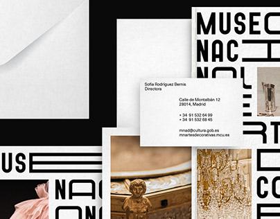 Museo Nacional de Artes Decorativas — Rebranding