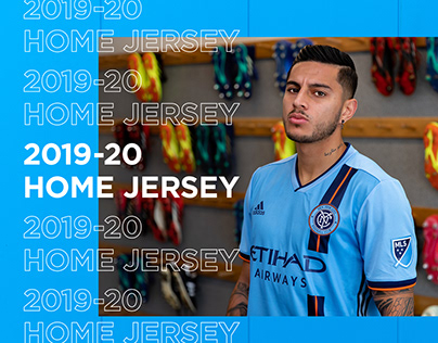 2019-20 NYCFC Home Jersey Launch