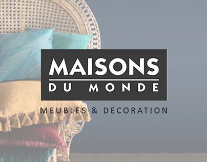 Newsletter (Maison du Monde)