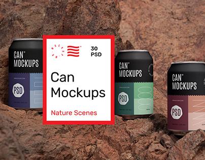 Can Mockups