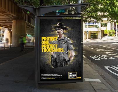 Free Outdoor Poster Billboard Mockup PSD
