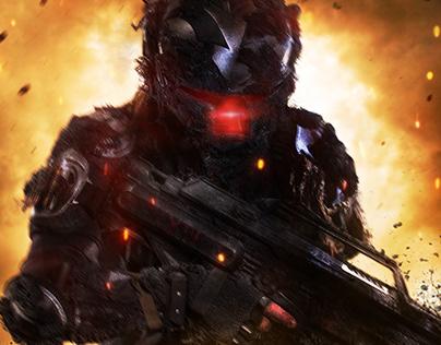 Scifi Warrior