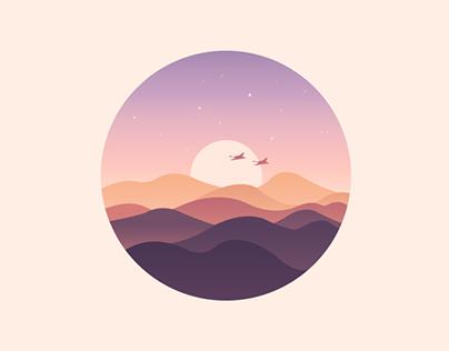 20151028.icon.《Scenery》