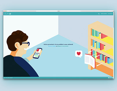 Illustration & Webdesign for Dejalu