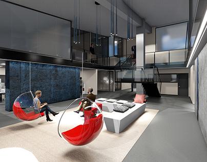 Reforma i disseny interior d'una oficina