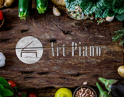 "Caffe & Restaurant ""Art Piano"" - Logo design"