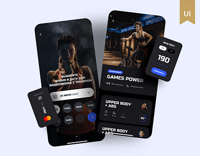 Fitness IOS App Design