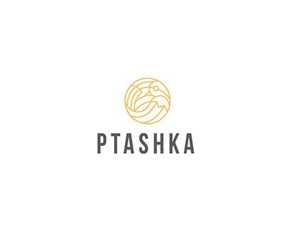 "Логотип для фотостудии ""Ptashka"""