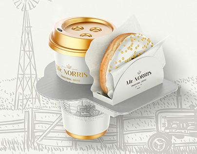 Mr. Norris Coffee   Logo and Packaging