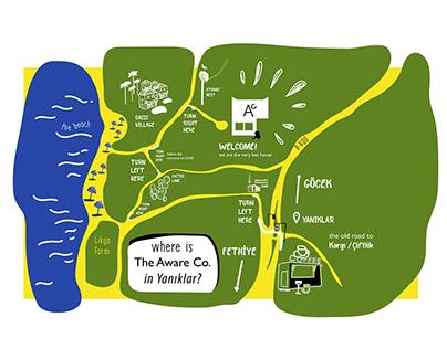 TheAwareCo. Map